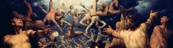 La caiguda dels Titans - Cornelis Van Haarlem (fragment)